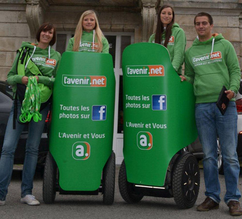 Streetmarketing Segway